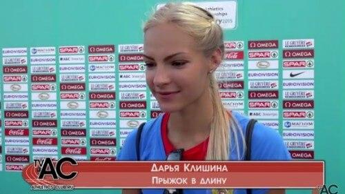 фото Дарья Клишина одержала победу в Командном чемпионате Европы