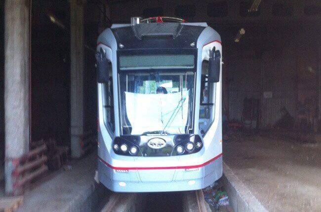 В тверское депо поступил первый трамвай City Star