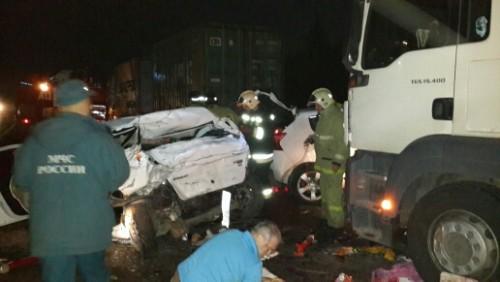 фото В ДТП в Торжокском районе пострадали несколько человек
