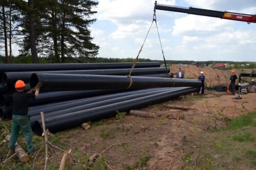 фото На Медновском водозаборе проводятся масштабные ремонтные работы