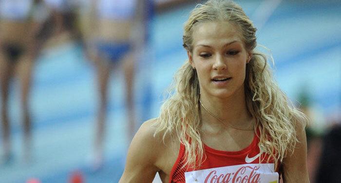 Дарья Клишина одержала победу в прыжках в длину в Риме