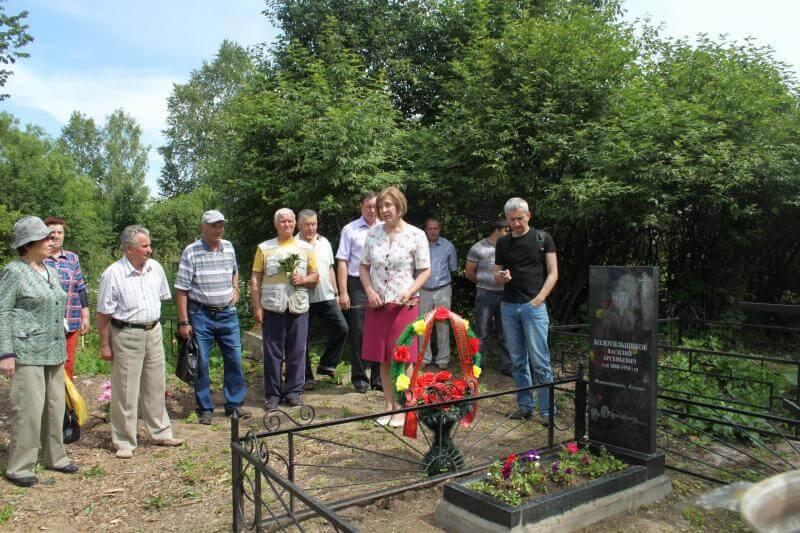 В Кашине открыли памятник фотолетописцу Василию Колотильщикову
