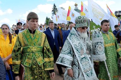 фото В Тверской области стартовал XVII Волжский крестный ход
