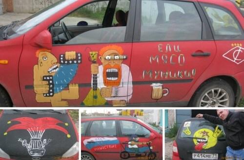"""фото Оргкомитет """"Нашествия"""" объявил конкурс на раскраску автомобилей символикой фестиваля"""