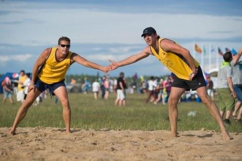 """фото На фестивале """"Нашествие"""" пройдут соревнования по пляжному волейболу и футболу"""