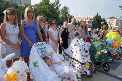 фото В Кимрах пройдет парад детских колясок