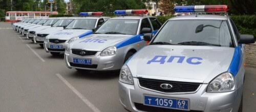 фото Сотрудники тверской полиции получили новые служебные автомобили