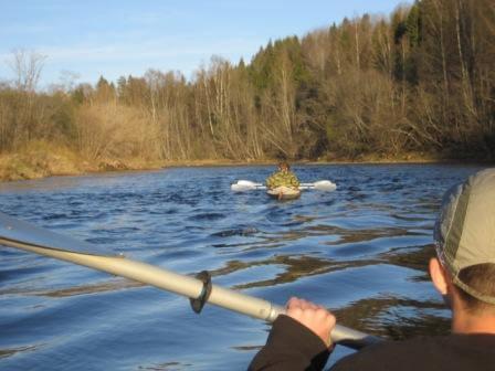 В Тверской области прошел сплав на байдарках по местам боевой славы