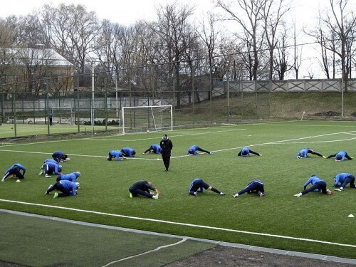 """фото """"Волга"""" начала подготовку к новому сезону в Твери"""