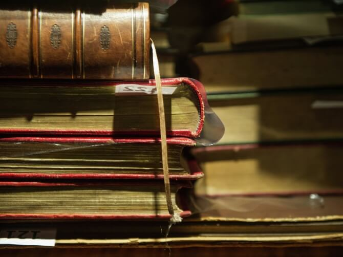 В Твери проходит выставка книг, запрещенных в прошлом столетии