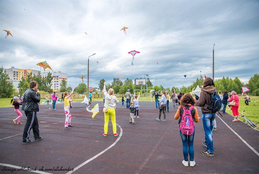 В Твери прошел фестиваль воздушных змеев