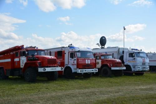 """фото На фестивале """"Нашествие"""" будет представлена выставка пожарной и спасательной техники"""