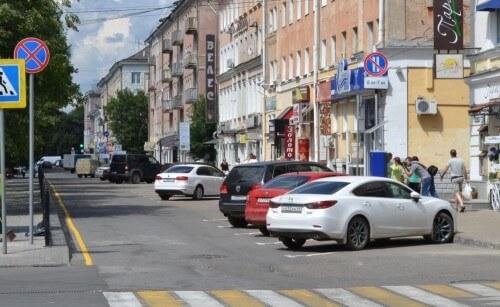 фото В Твери начала работу первая платная парковка