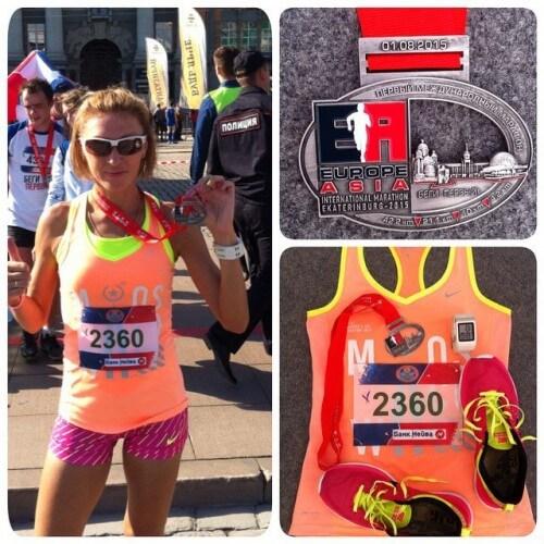 фото Тверичанка Наталья Измоденова победила на международном марафоне Европа-Азия