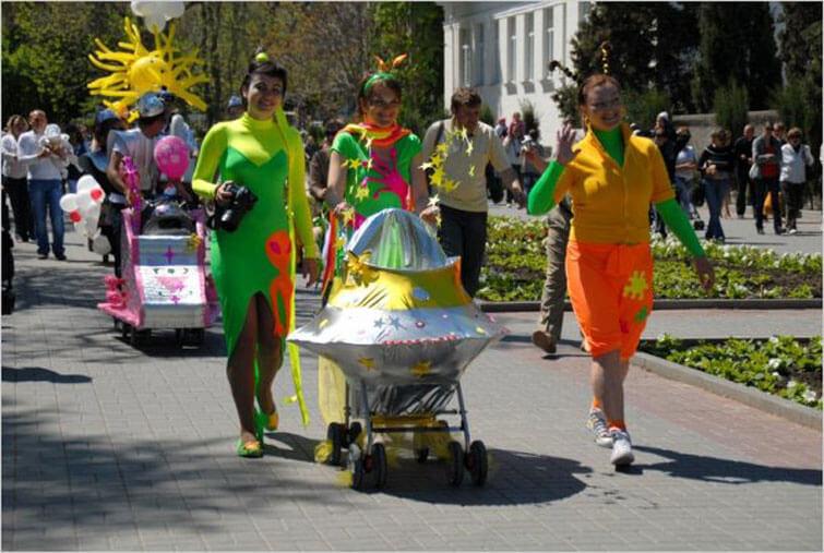 Вслед за Кимрами и Тверью парад детских колясок пройдет и в Максатихе