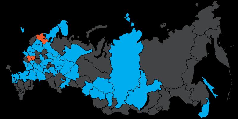 Мобильный интернет Tele2 доступен в 43 регионах России