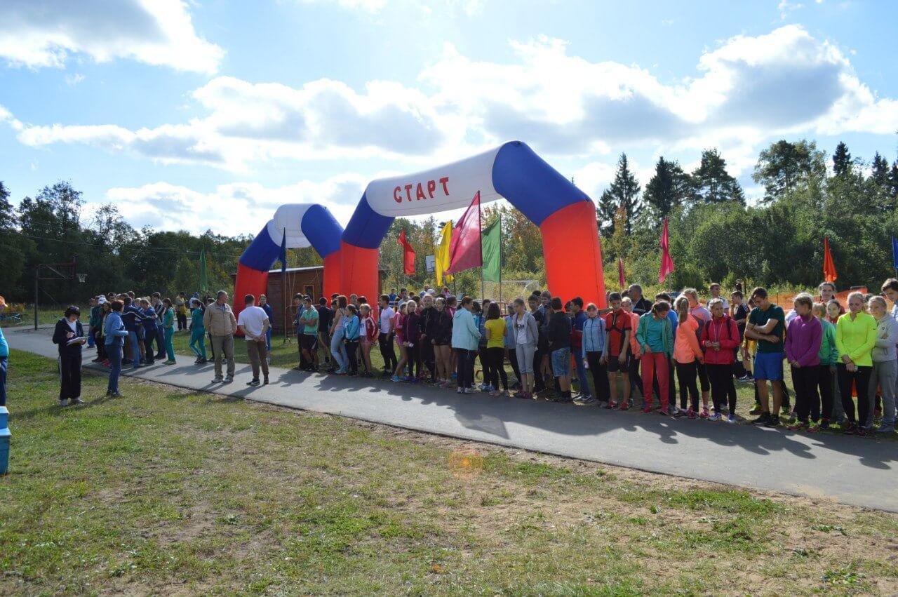 В Чуприяновке прошли чемпионат и первенство Тверской области по легкоатлетическому кроссу