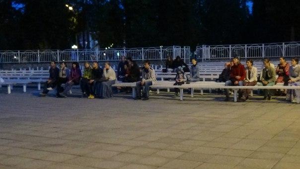 Клуб «Сеятель» устроил открытый кинопоказ в Городском саду