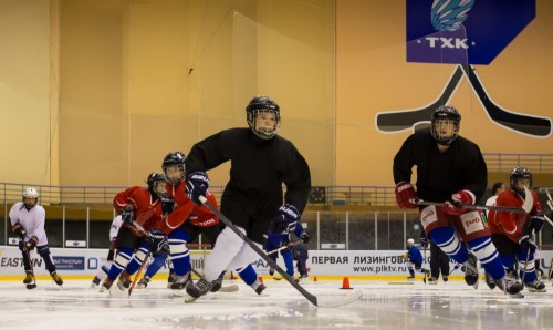 фото ТХК провел первый мастер-класс для воспитанников тверской хоккейной школы