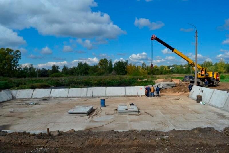 «Росводоканал Тверь» построил песковую площадку за 2 млн рублей