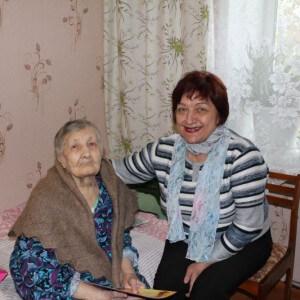 фото Уроженка Пеновского района Зинаида Болотина отметила 100-летний юбилей