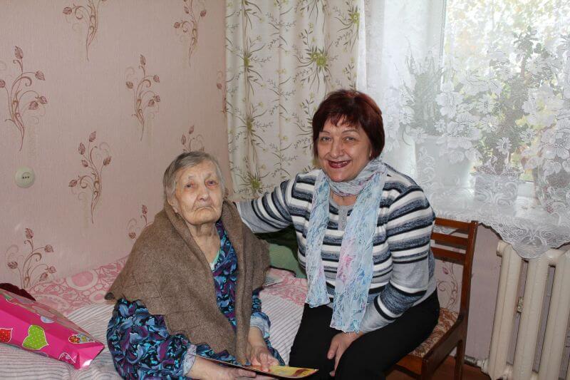 Уроженка Пеновского района Зинаида Болотина отметила 100-летний юбилей