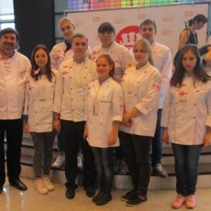 фото Тверские студенты - победители Всероссийского молодежного чемпионата по кулинарии