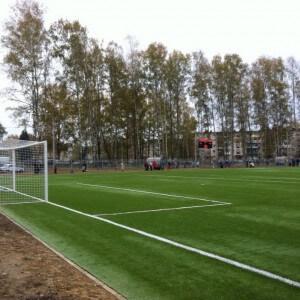 фото Новое футбольное поле для новых спортивных побед