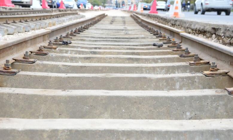 В Твери продолжается восстановительный ремонт трамвайных путей