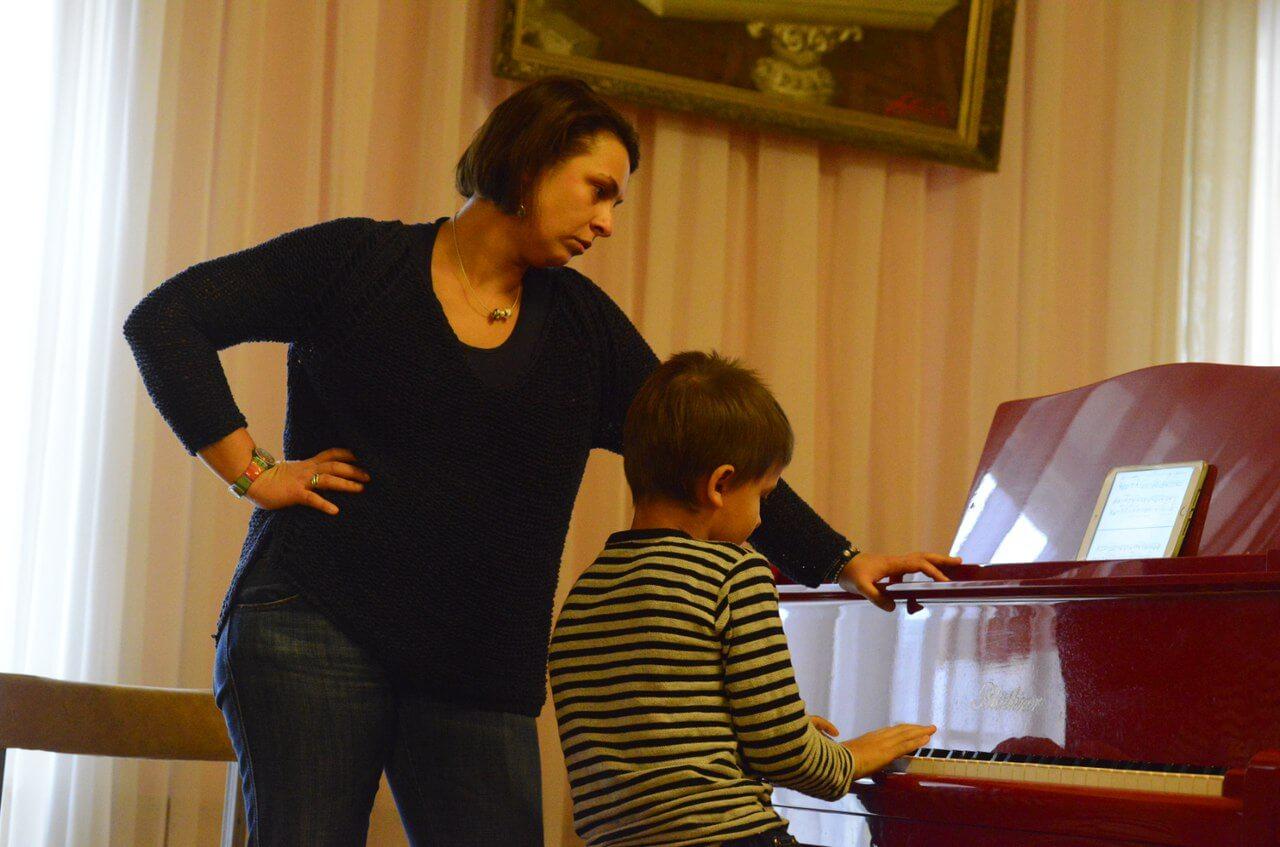 Ксения Башмет провела в Тверской филармонии мастер-класс для детей