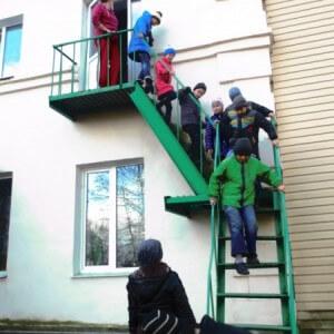 фото В Нелидовском социально-реабилитационном центре эвакуировали детей