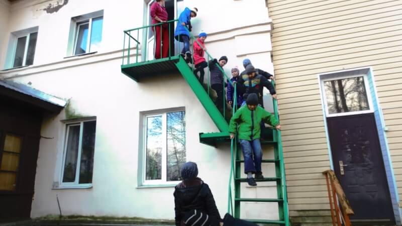 В Нелидовском социально-реабилитационном центре эвакуировали детей