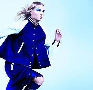 фото Дарья Клишина стала лицом рекламной кампании совместной коллекции одежды NikeLab и Sacai