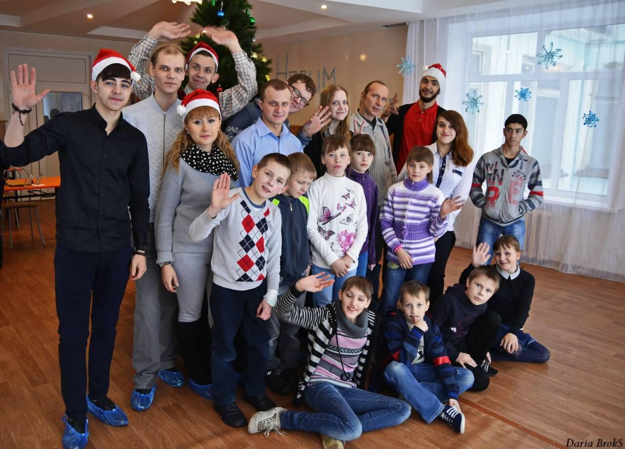 """Волонтеры организовали праздник для детей из социально-реабилитационного центра """"Надежда"""""""