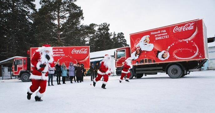 """""""Рождественский караван"""" Coca-Cola Hellenic приедет в Тверь"""