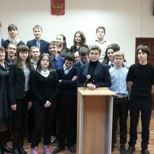 фото Калязинские школьники познакомились с работой районного суда