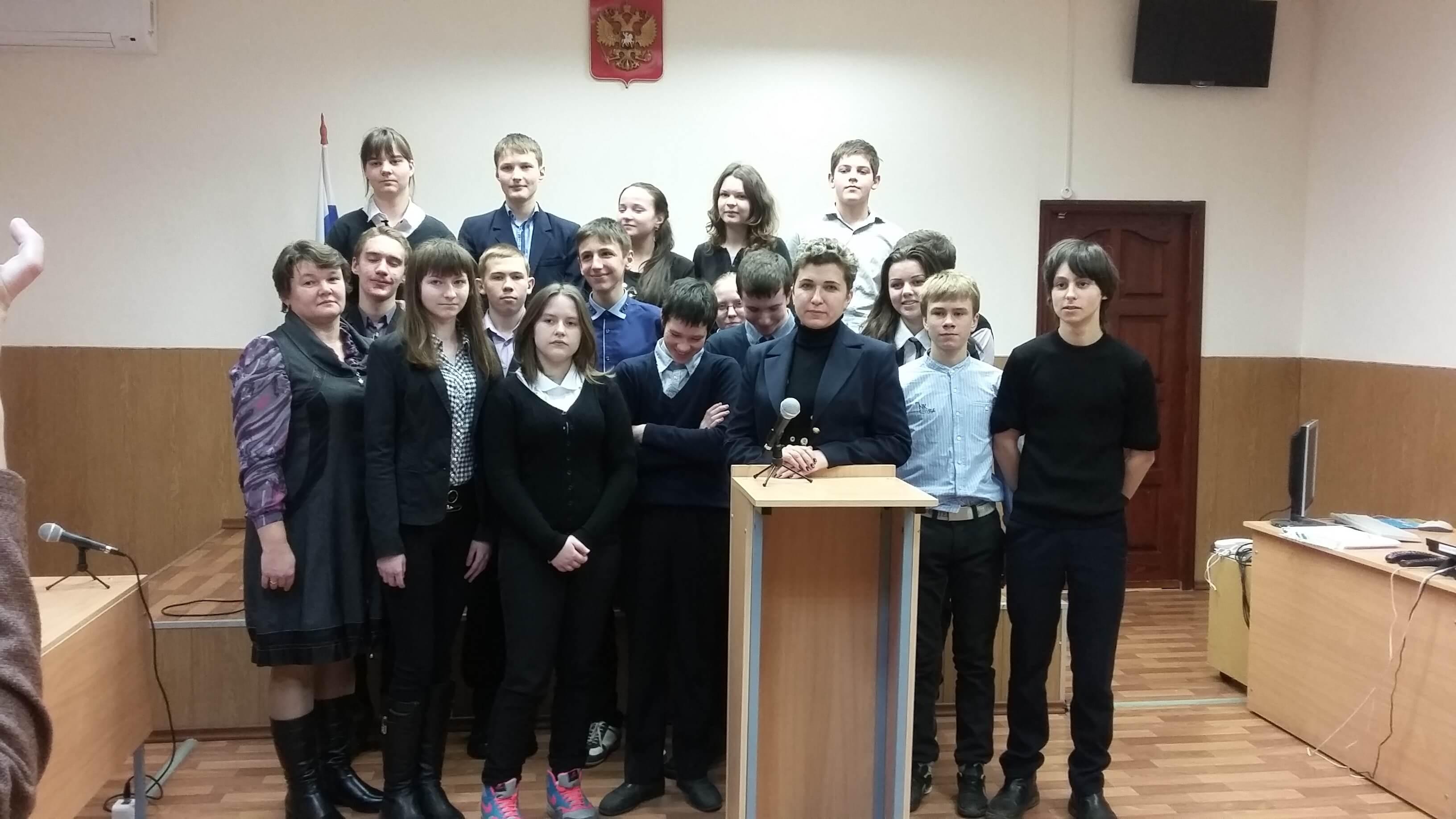 Калязинские школьники познакомились с работой районного суда
