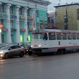 фото В Твери возобновлено движение трамваев по маршруту №14
