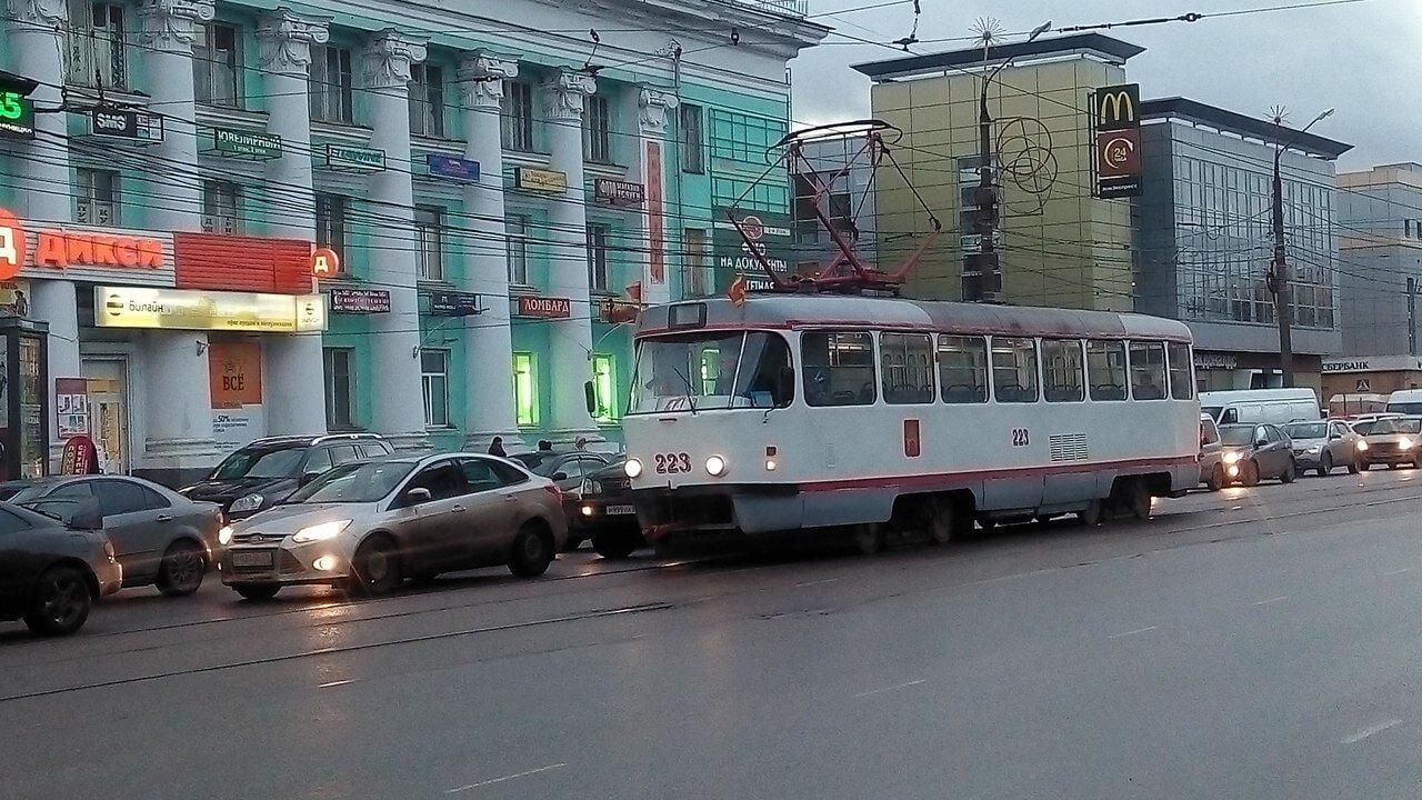 В Твери возобновлено движение трамваев по маршруту №14