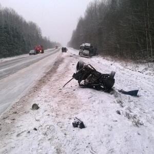 фото Аварийность за 4-5 января на дорогах Тверской области