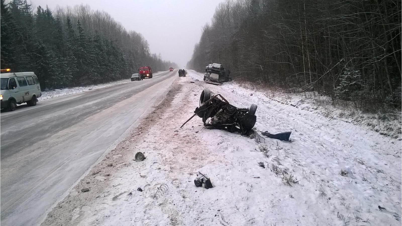 Аварийность за 4-5 января на дорогах Тверской области