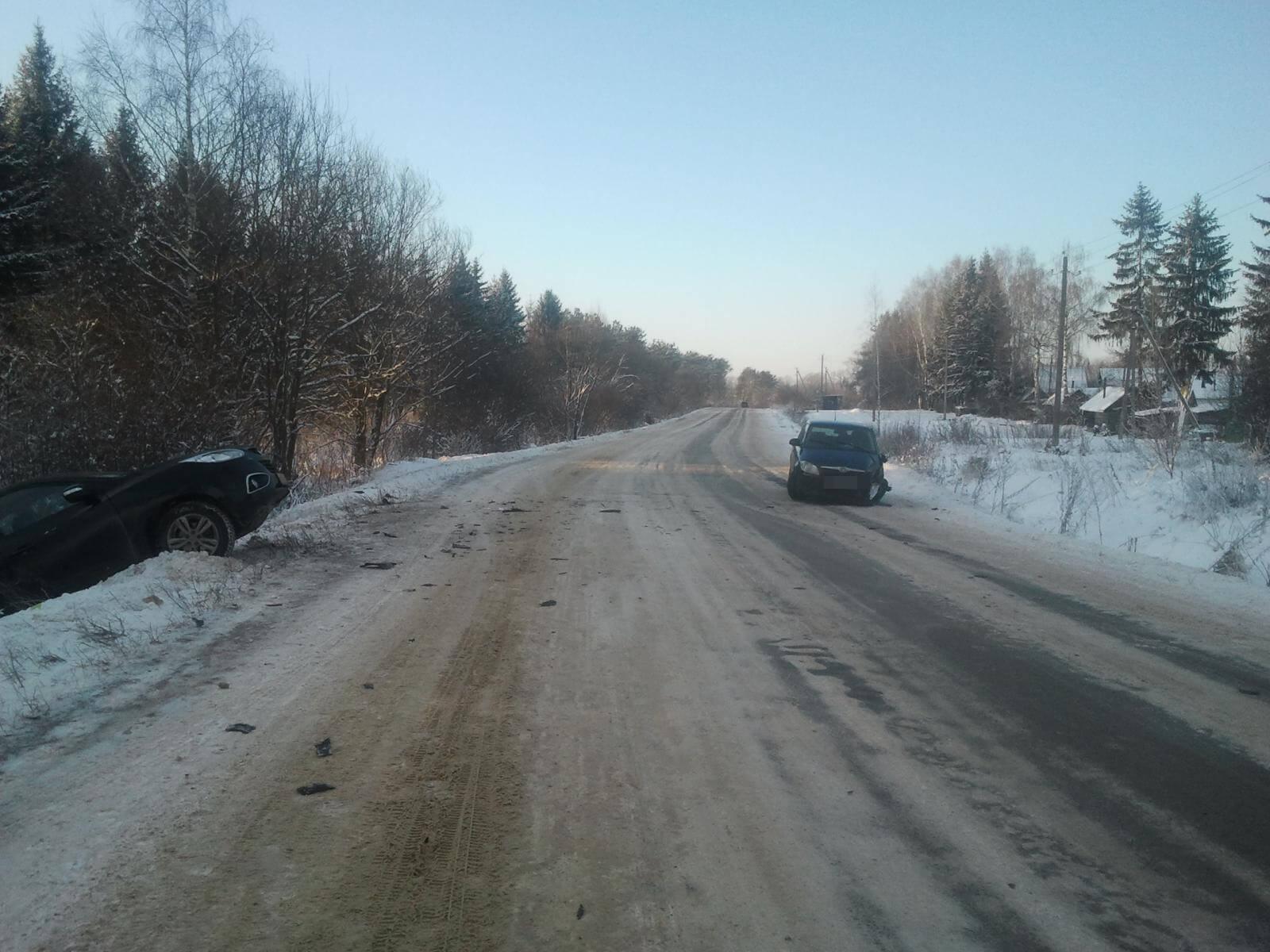 За 3 дня на дорогах Тверской области 1 человек погиб и 9 получили травмы