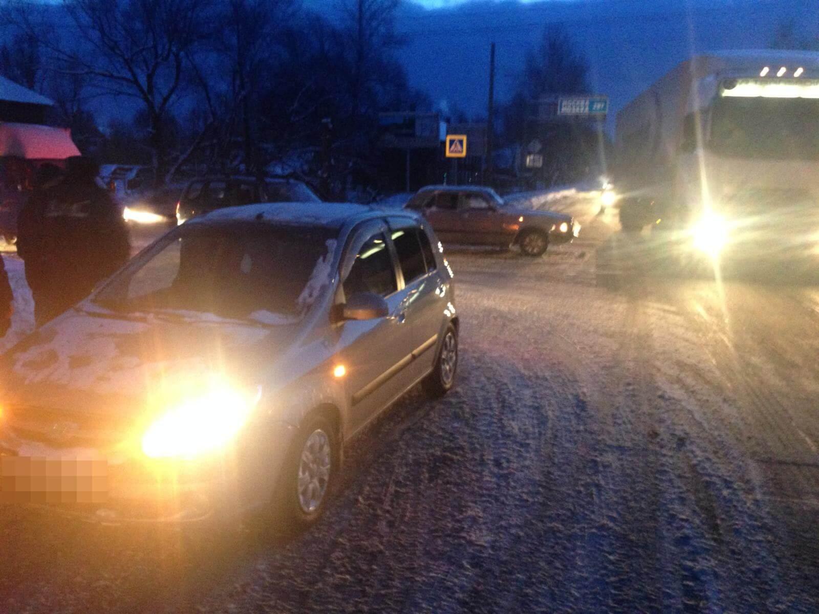 14 января в 2 ДТП на дорогах области пострадали 2 человека
