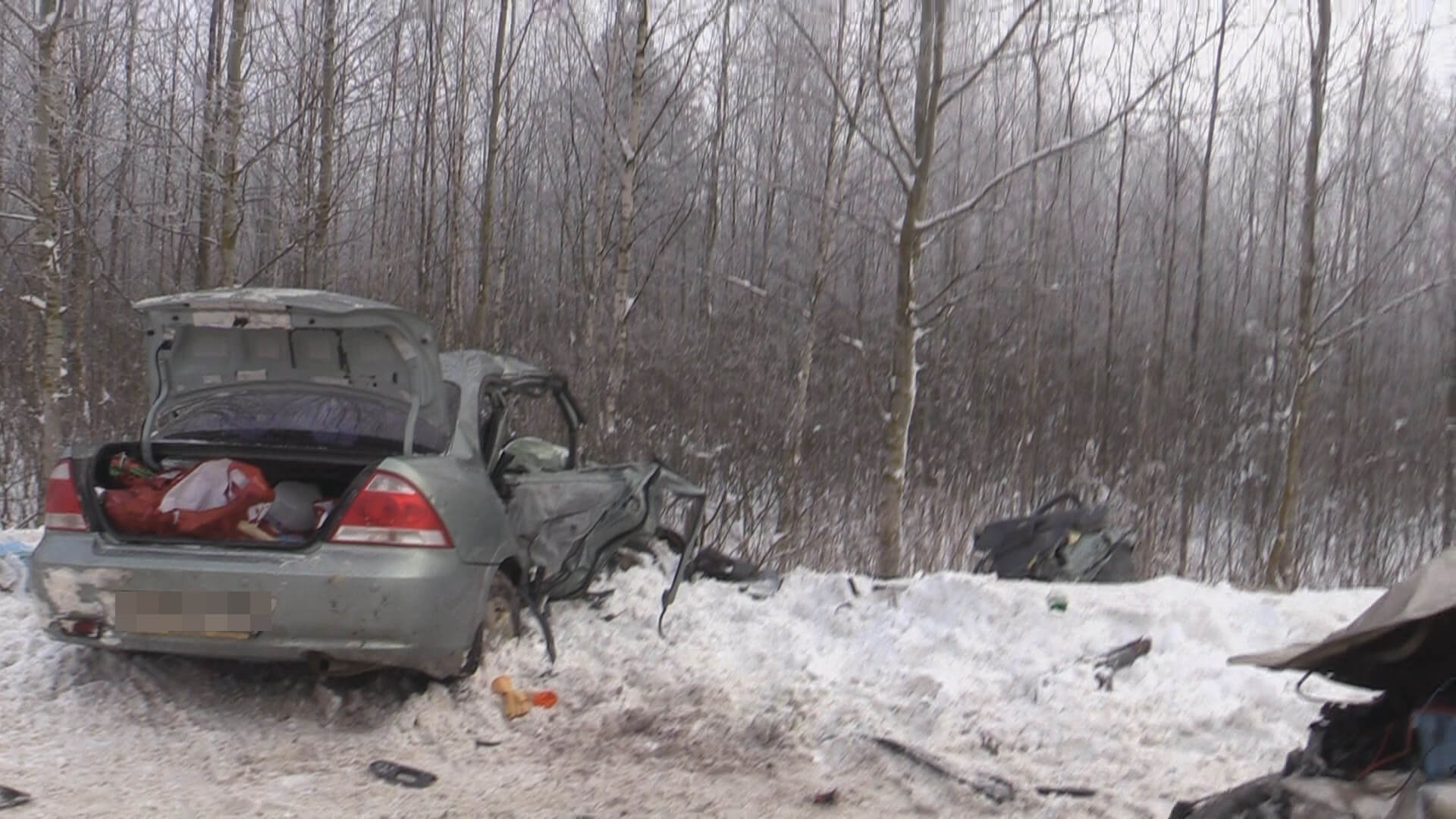 В 3 дтп на дорогах области погибли 2 человека и пострадали 5 человек