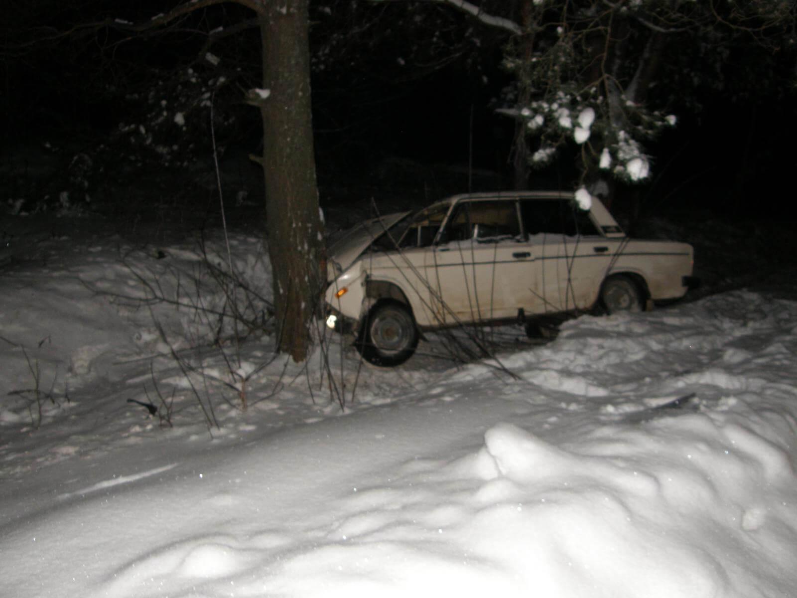 26 января на территории области в 2 ДТП пострадали 4 человека