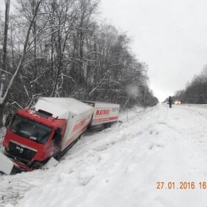 фото Аварийность на территории Тверской области за 27 января