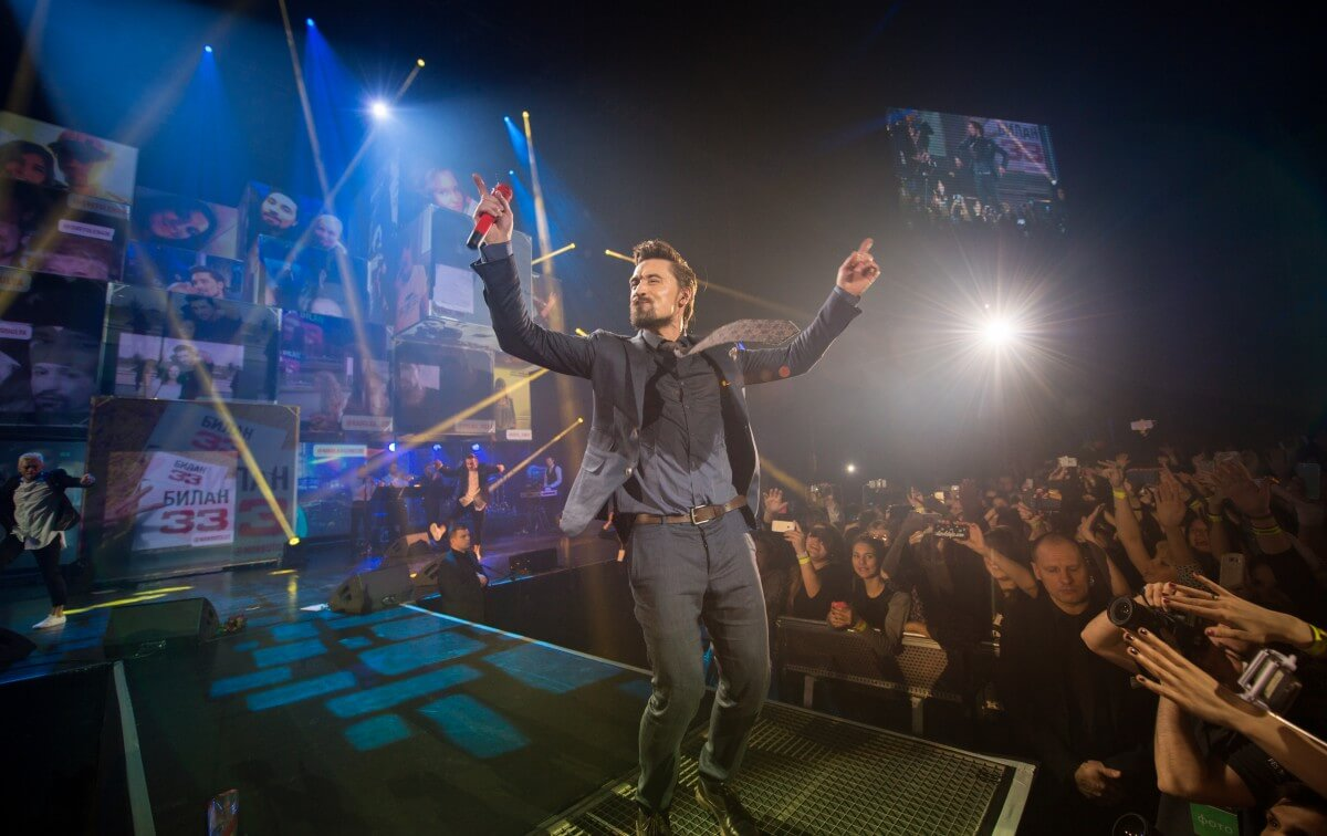 "Дима Билан представит в Твери концертную программу ""33 на бис"""