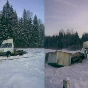фото В Тверской области произошло ДТП с участием рельсового автобуса и Газели