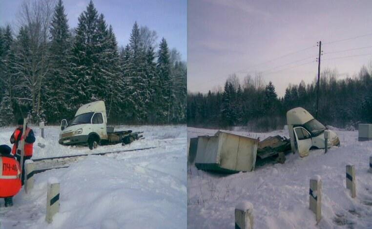 В Тверской области произошло ДТП с участием рельсового автобуса и Газели