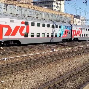 фото Открыта продажа билетов на новый двухэтажный поезд сообщением Санкт-Петербург - Москва